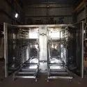 Semi Automatic Stainless Steel Tray Dryer