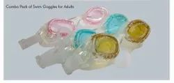 Combo Pack of Swim Goggles For Adults