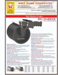 Cartoon / HDPE Woven Sacks Bag Coding Coder -Mini Hand Marker / Coder 50 MM x 300 MM