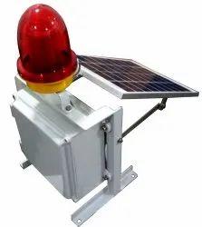 Solar Aviation Warning Light