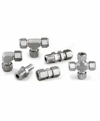 STAINLESS STEEL TUBE FITTING, For Structure Pipe, Size: 1/2 INCH,3/4 INCH