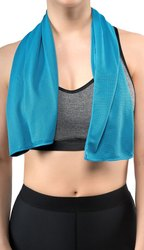nirvana Microfiber Sports Cooling Towel, Rectangle, Size: 100 cm * 30 cm
