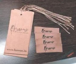 Tag label for clothing