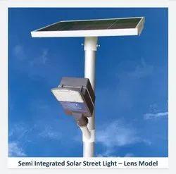 15W Lens Model Semi Integrated Solar Street Light