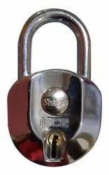 Gopal With Key Shagun Nice Padlock, Padlock Size: 67mm, Chrome