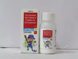 Lactidale Syrup ( Zinc Gluconate With Prebiotics And Probiotics And Multivitamins Dry Syrup )