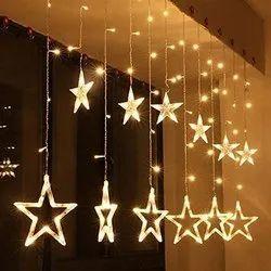 Shopolic LED 6 + 6 Star Light, For Decoration, Plug-in
