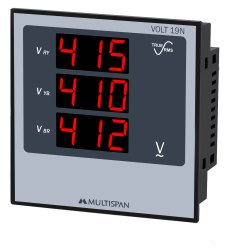Volt-19N 3 Phase Voltage Meter