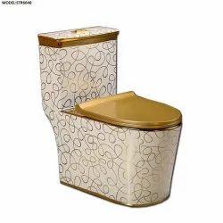 One Piece Toilet Golden