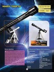 Dr. Mady 700F 70AZ Refractor Telescope