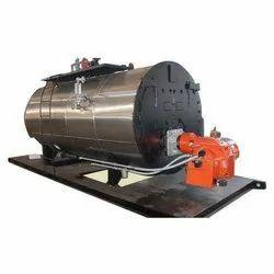 Oil & Gas Fired 750 kg/hr Steam Boiler
