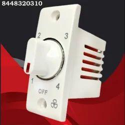 White 4 Step Nexa Penta Fan Regulator, 100W