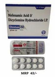 Mefenamic Acid Dicyclomine Hcl Tablets