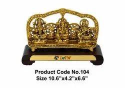 Gold GTK104, For Interior Decor, 10.6