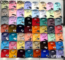 Men Cotton Linen Shirt