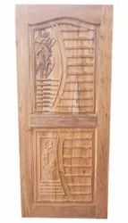 Single Wooden Door, For Home and Hotel