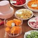 Portable Fruit Vegetable Onion Garlic Cutter Food Speedy Chopper