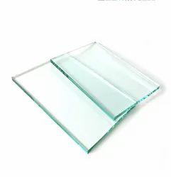 5mm Flat Plain Glass, For Office
