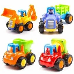 Multicolor Unbreakable Vehicles Mix Design, For Play