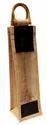 32cm Natural Jute Wine Bag