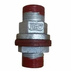 Threaded Cast Iron Tank Nipple, For Water Pipe