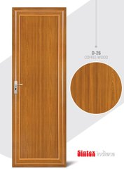 Casement Polished Sintex UPVC Doors Durable, Strong & Fully Water Proof Doors, Interior