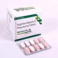 Flupirtine Maleate Paracetamol Tablet