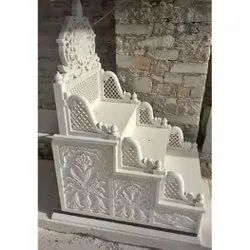 White Carved Marble Masjid Membrane, Size: 5 Feet