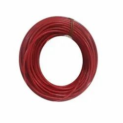 Red PVC Anchor Housing Wire