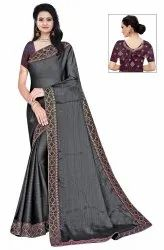 Janasya Women's Multicolor Silk Blend Woven Saree With Blouse Piece(DAMINI-Pack of 4)
