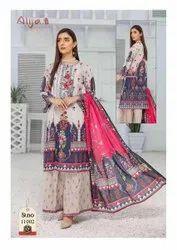 Printed Cotton Fancy Salwar Suit