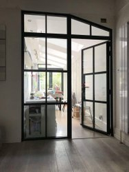 Industrial Steel Windows for Panel Rooms