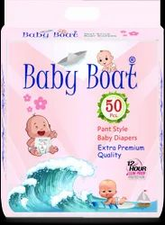 BABY BOAT Baby Diapers 50 Pcs Pack