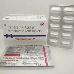 Tranexamic Acid 500 MG & Mefenamic Acid 250 MG - Tranxomixs-M