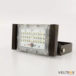 Veltrox Cool White 25W LED Outdoor Floodlight, IP Rating: IP66, Model Name/Number: VLT-FL-25-WH