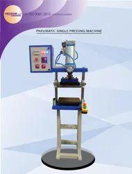 Pneumatic Paratha Single Ball Flattening Machine