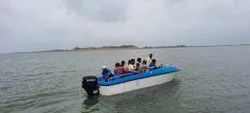 IRS approved 12 seater FRP Speed Boat with 50hp 4 Stroke OBM