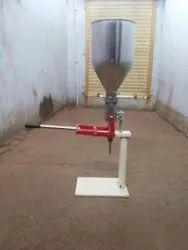 Manual Ointment Filling Machine