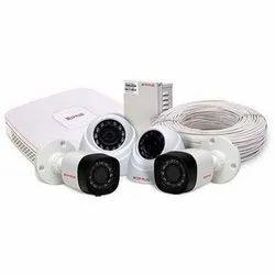 Cp Plus 4 Camera Set, For Security Purpose