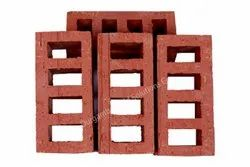 Exposed Perforated Four Hole Rectangular Clay Brick