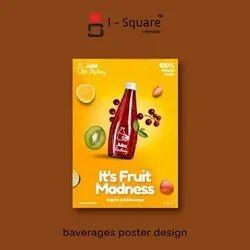 5 Days Digital baverages poster design