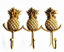 Metal Pineapple Wall Hook