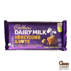 Cadbury Dairy Milk - Honeycomb and Nuts Chocolate, 165g (Bar), Packaging Type: Packet