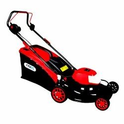 Electric Lawn Mower With Induction Motor & Steel Deck For Heavy Duty Use