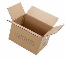 Brown Rectangular Printed Corrugated Box, Weight Holding Capacity (kg): >25 Kg