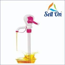 Kitchenware Plastic Oil Pump for Oil Extractor and Fuel Transfer Kitchen & Manual Hand Oil