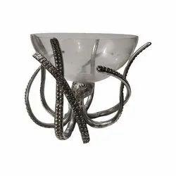Metal Octopus Bowl Wine Cooler