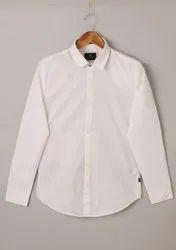 Plain Mens Stylish Cotton Shirts