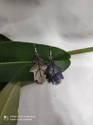 Stainless Steel Silver Ladies Artificial earring Jewelery