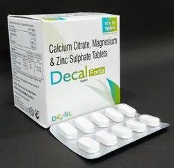 Calcitriol 0.25mg, Calcium Carbonate 500mg, Zinc 7.5mg and Magnesium Tablets